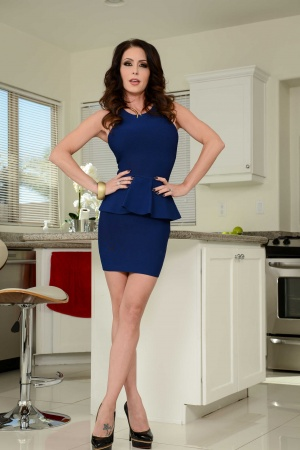 Housewife Jessica Jaymes takes a fuck break pov style