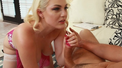 Dancer Jenna Ivory takes it balls deep from her mechanic