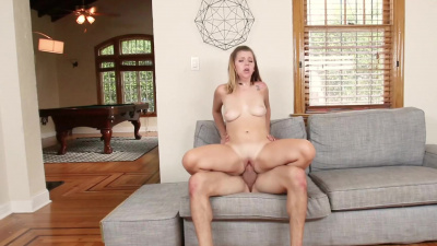 Thicc Willow Winters welcomes her boyfriend with a rough sex action