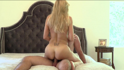 Super-busty milf Brandi Love rides fat shaft with her experienced pussy