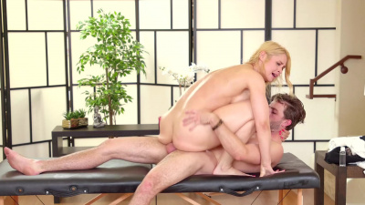 Sarah Vandella cheating on her husband with a handsome masseur
