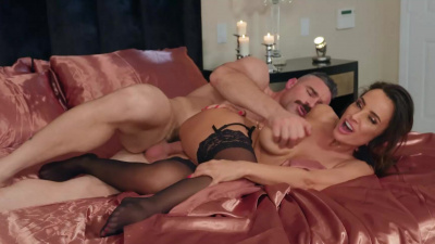 Charles pleases his wife Lisa Ann and convinces her to take him back