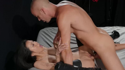 Asian sex slave Rae Lil Blac fulfills her master's deepest desires