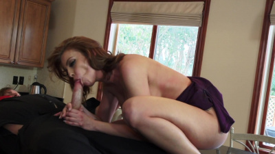 Gorgeous Britney Amber seduces her husband's assistant