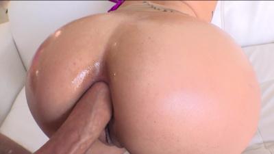 Leggy latina Vanessa Sky nasty sodomy
