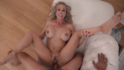 Brandi Love gives her pussy as a desert after meal