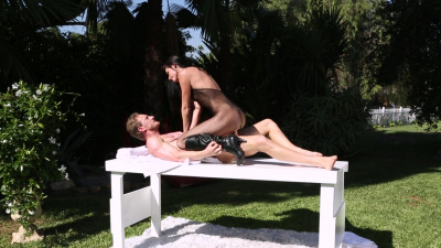 Irresistible India Summer fucking peeping tom