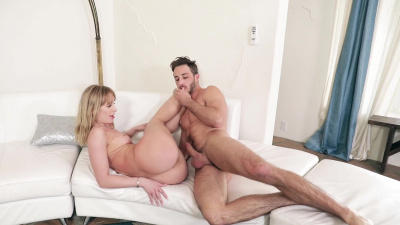 Daisy Stone letting a guy take out all his pent-up aggression on her