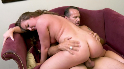 Maddy O'Reilly gets fucked and cums way harder than her husband ever makes her