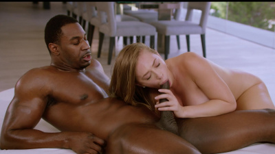 Kagney Linn Karter can't resist big black cock