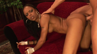 Black nurse Marie Lux helps patient to get rid of blue balls
