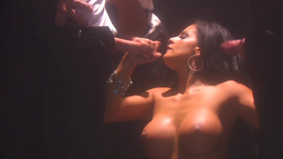 Escort Mikayla Mendez hired by 3 lads